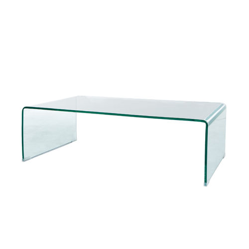 GLASS - TABLE BASSE 110 / CUB = 0.274 M3