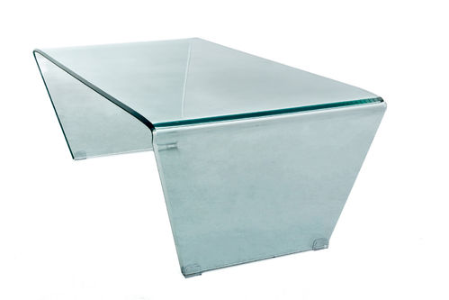 GLASS - TABLE BASSE 120 / CUB = 0.36 M3