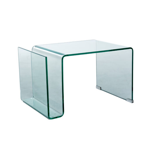 GLASS - TABLE BASSE 61X47 / CUB = 0.16 M3