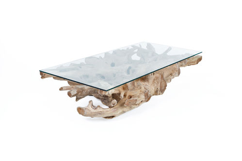 RACINE - TABLE BASSE 140CM / CUB = 0.42 M3