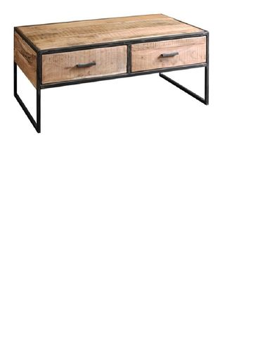 CITY - TABLE BASSE 2 T. 120X60 / CUB = 0.34 M3
