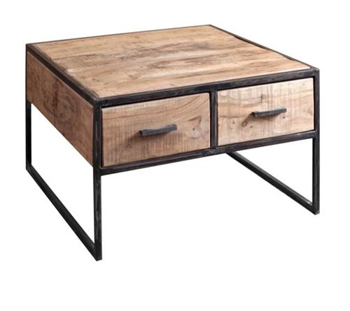 CITY - TABLE BASSE 2T.+ 2T. 80X80 / CUB = 0.302M3
