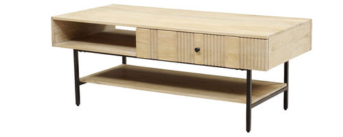 OSLO LIGHT - TABLE BASSE 1T / CUB = 0,263 M3