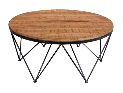 CITY - TABLE BASSE RONDE EDITION LIMITEE / CUB = 0.340 M3